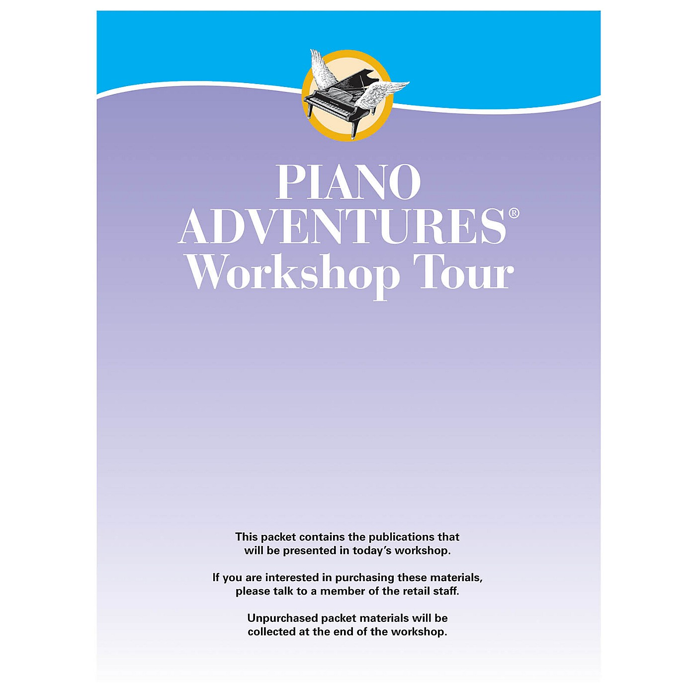 Faber Music LTD Other Clinicians Faber Teacher Packets 2014 (using New Wrap Up) Faber Piano Adventures® Series thumbnail