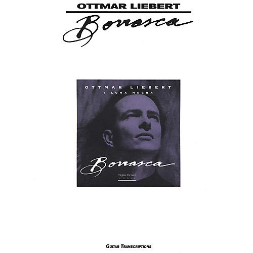 Creative Concepts Ottmar Liebert Borrasca Guitar Tab Songbook-thumbnail