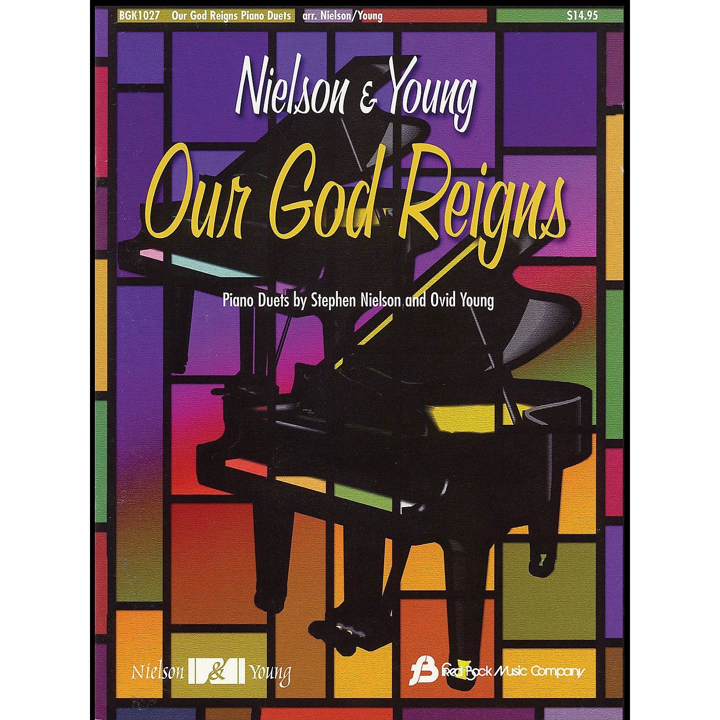 Fred Bock Music Our God Reigns Piano Duets by Stephen Nielson and Ovid Young thumbnail