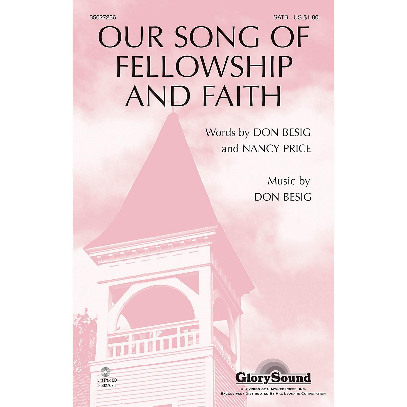 Shawnee Press Our Song of Fellowship and Faith SATB thumbnail