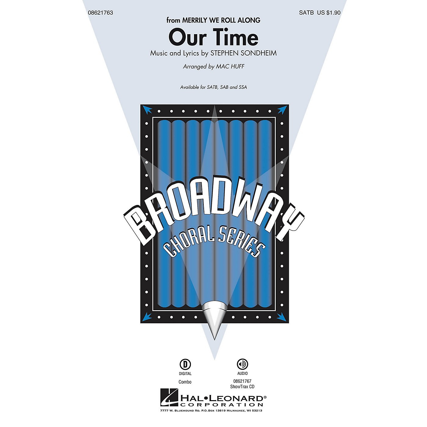 Hal Leonard Our Time (from Merrily We Roll Along) SAB Arranged by Mac Huff thumbnail