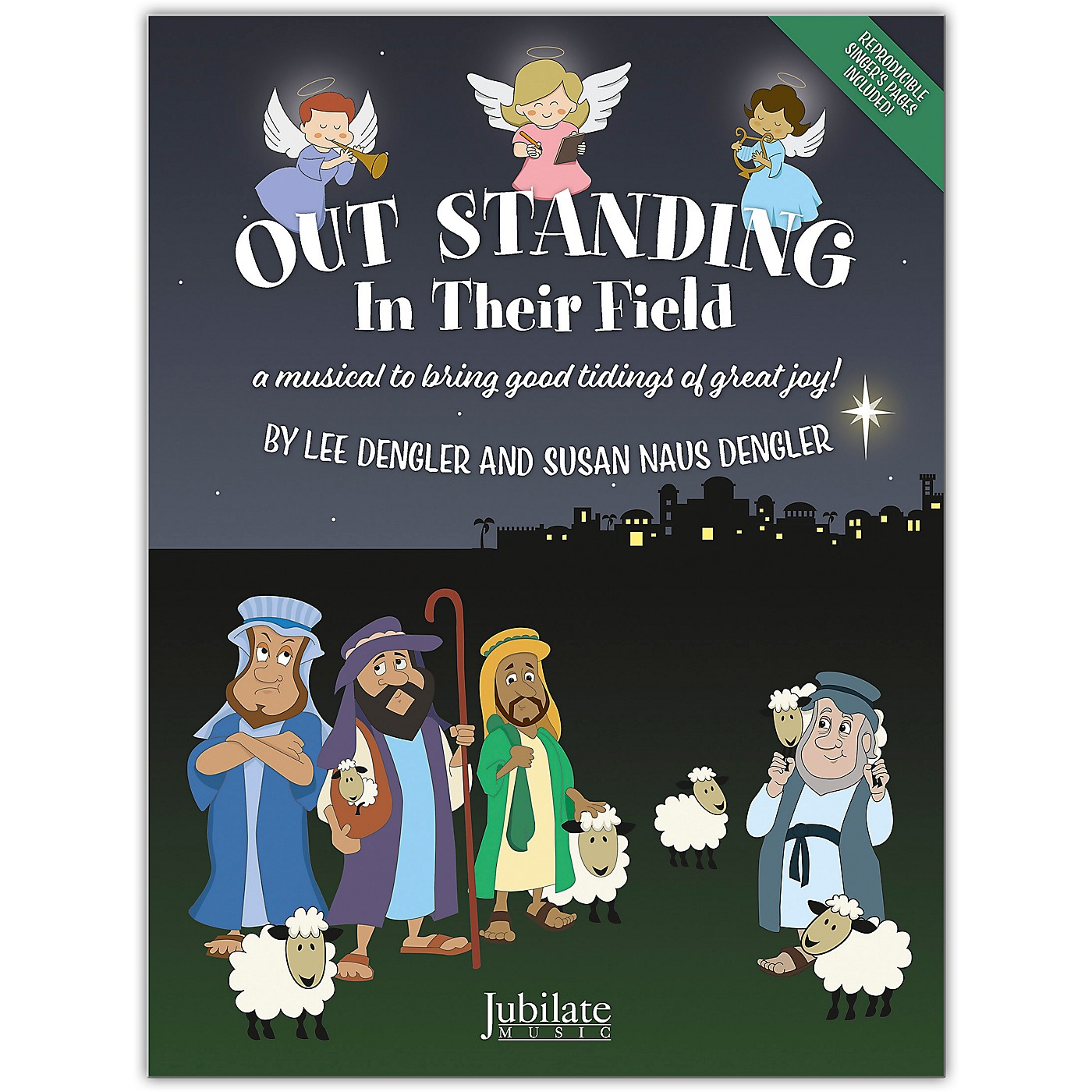 JUBILATE Out Standing in Their Field CD Preview Pack thumbnail