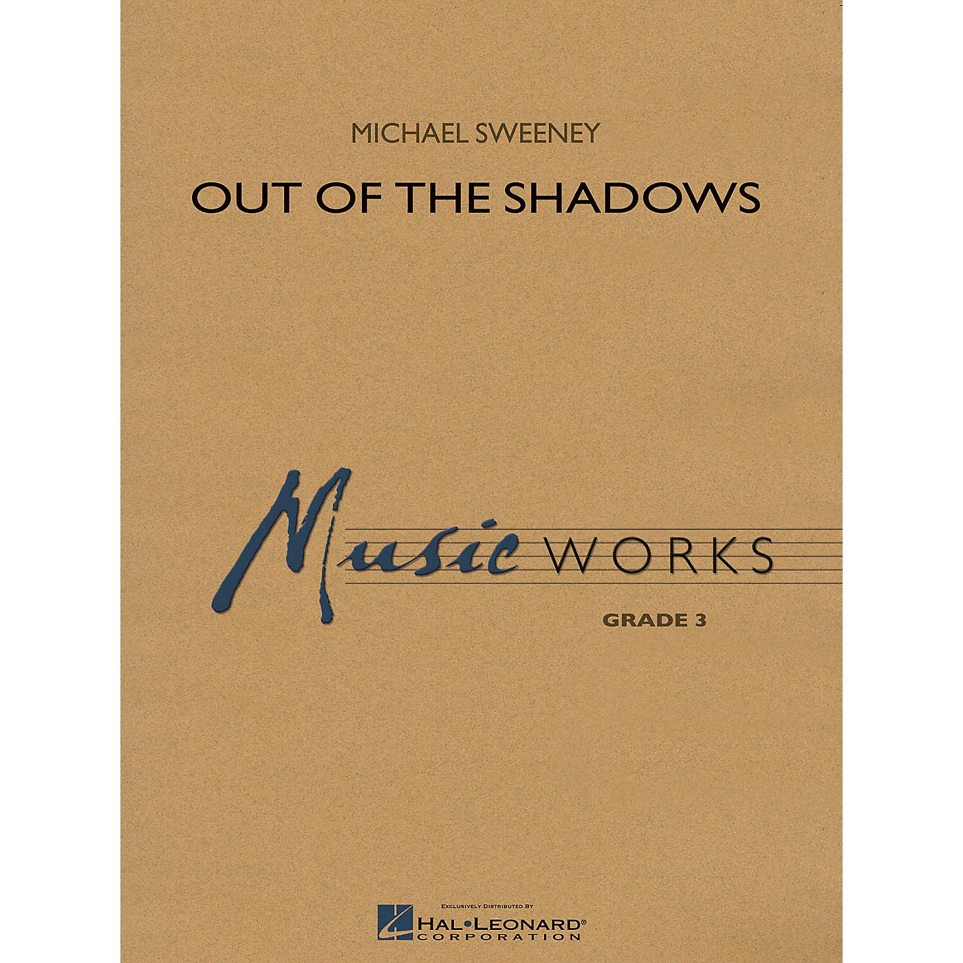Hal Leonard Out of the Shadows Concert Band Level 3 Composed by Michael Sweeney thumbnail