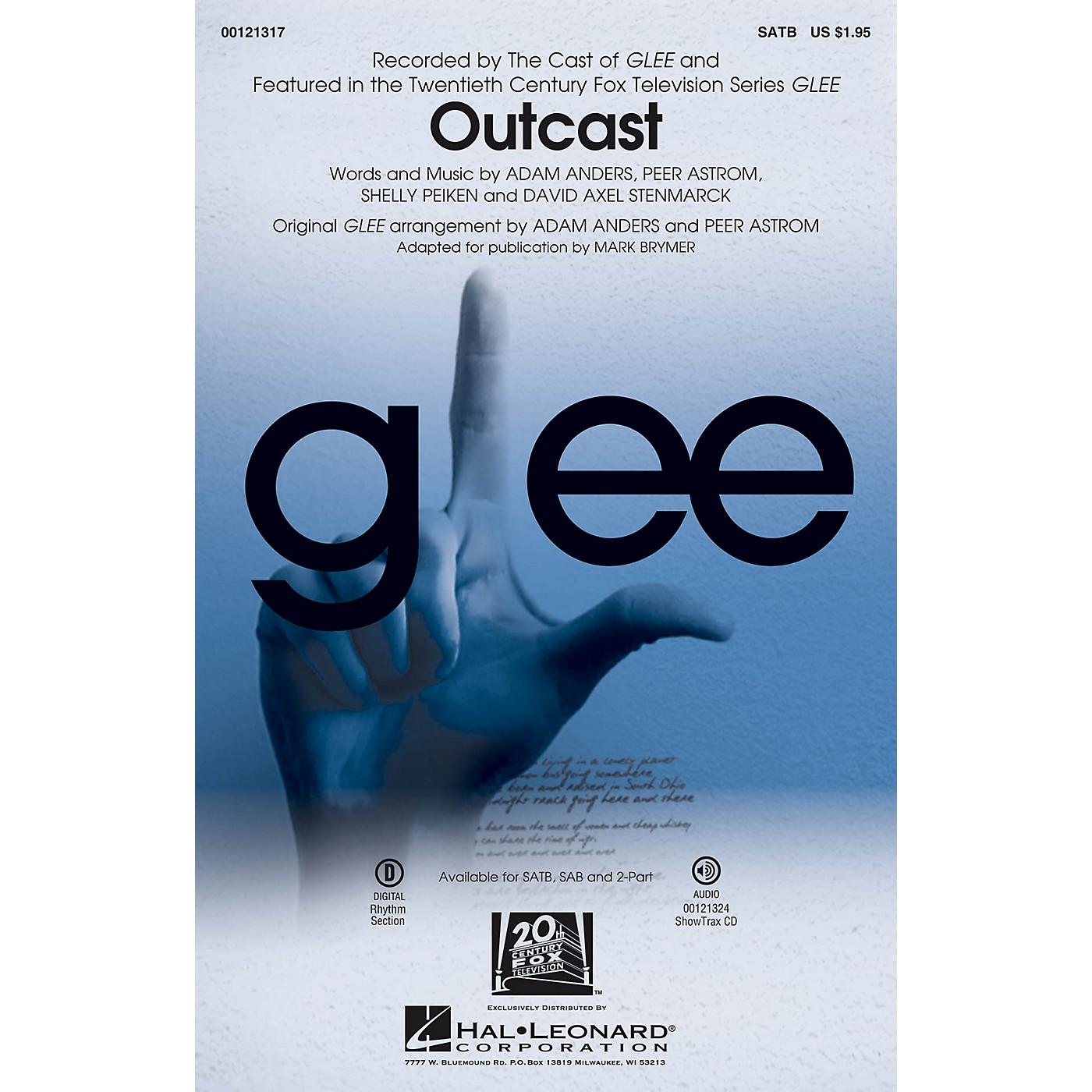 Hal Leonard Outcast SATB by Glee Cast thumbnail