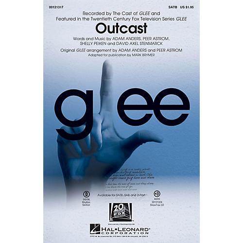 Hal Leonard Outcast ShowTrax CD by Glee Cast thumbnail