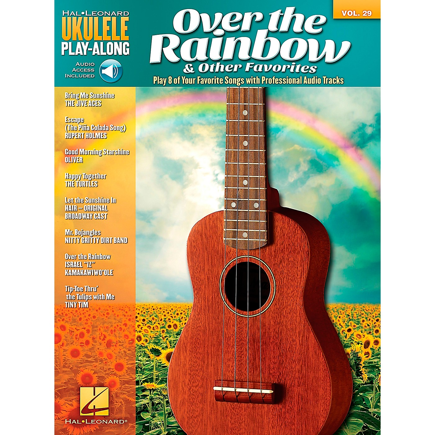 Hal Leonard Over The Rainbow & Other Favorites - Ukulele Play-Along Vol. 29 Book/CD thumbnail