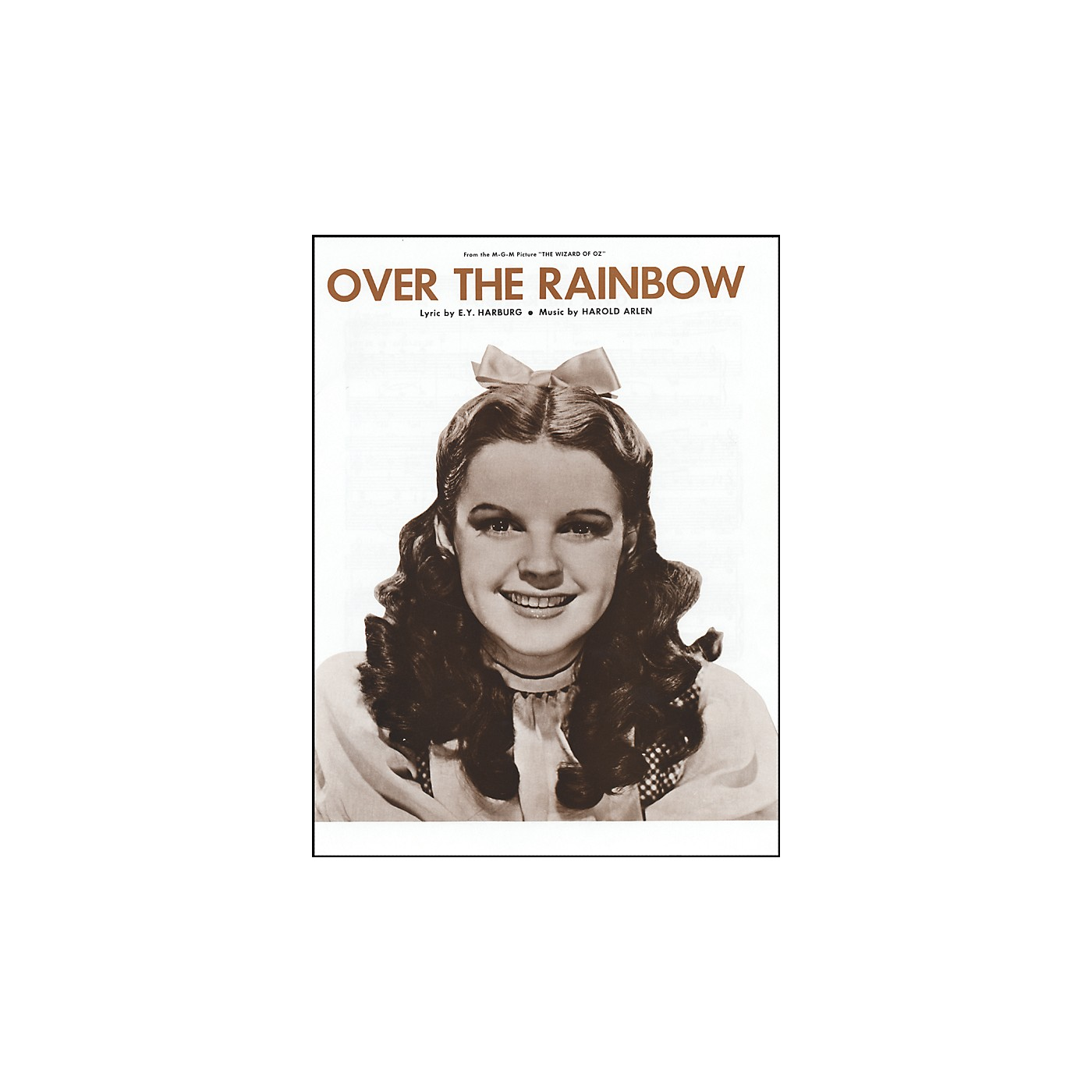 Alfred Over the Rainbow from The Wizard of Oz Vocal, Piano/Chord Sheet Music thumbnail