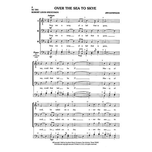 Hal Leonard Over the Sea to Skye (Choral Music/Octavo Secular Tbb) TBB Composed by Leininger, Jim thumbnail