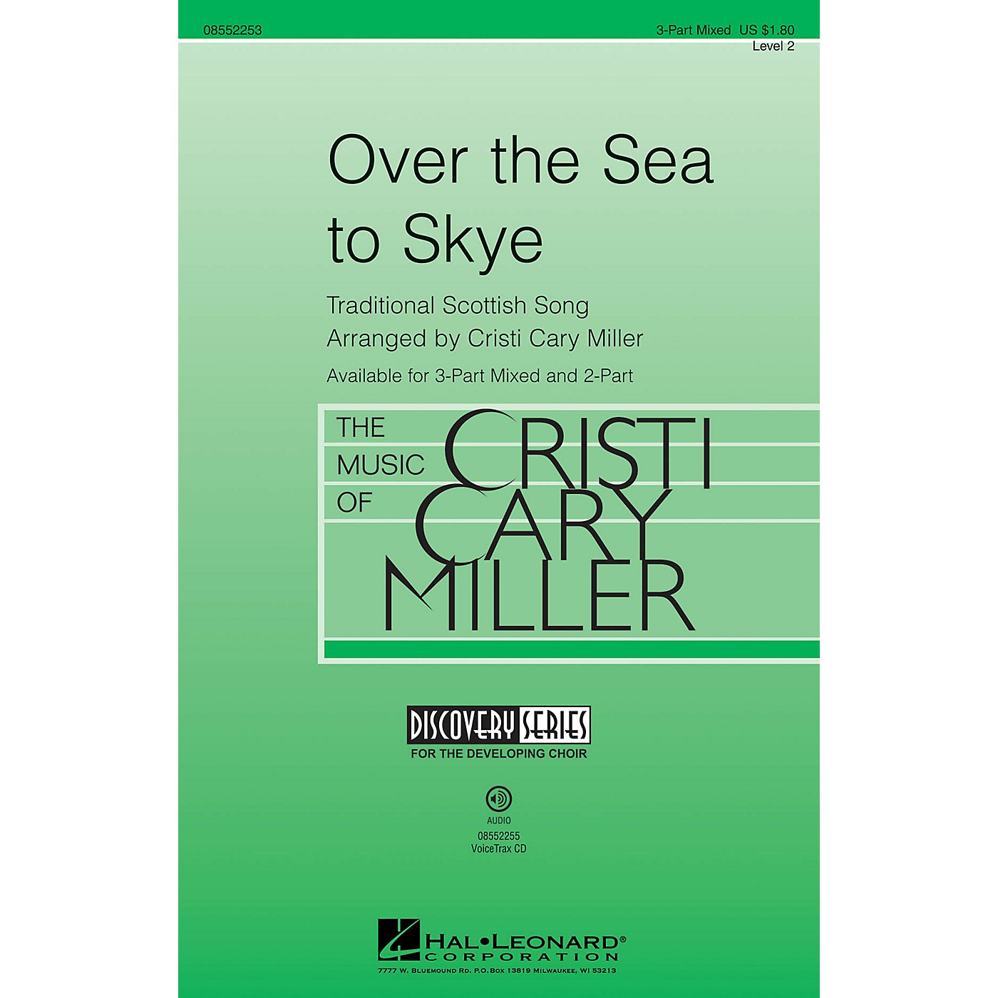 Hal Leonard Over the Sea to Skye (Discovery Level 2) 2-Part Arranged by Cristi Cary Miller thumbnail