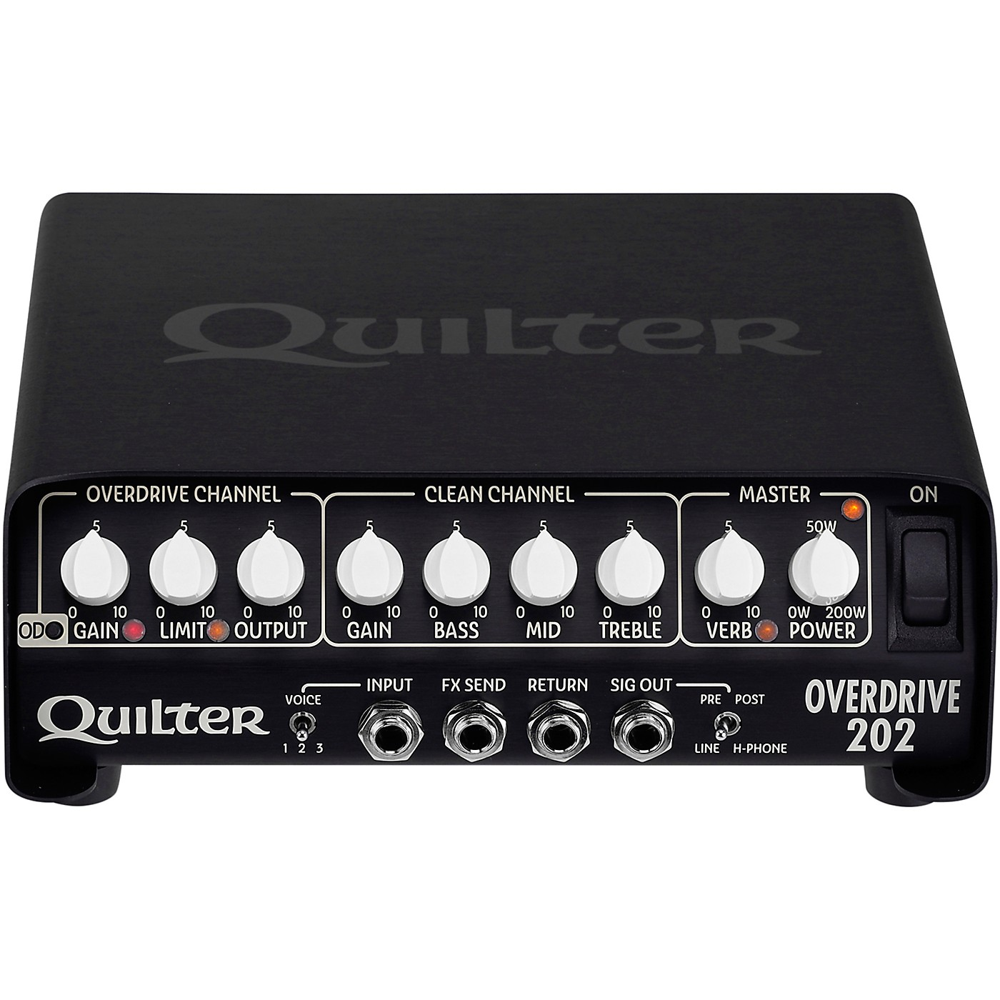 Quilter Labs OverDrive 202 Guitar Head thumbnail