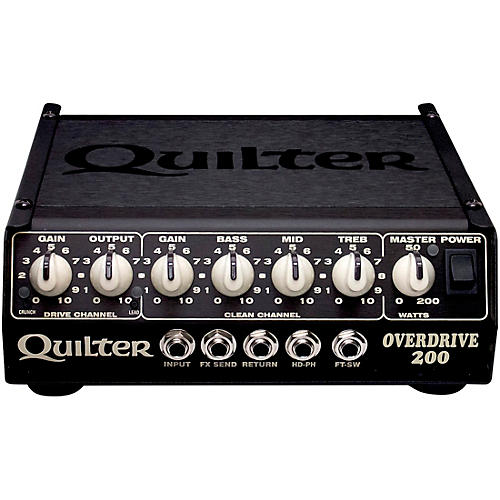 Quilter Labs Overdrive 200 200W Guitar Amp Head thumbnail
