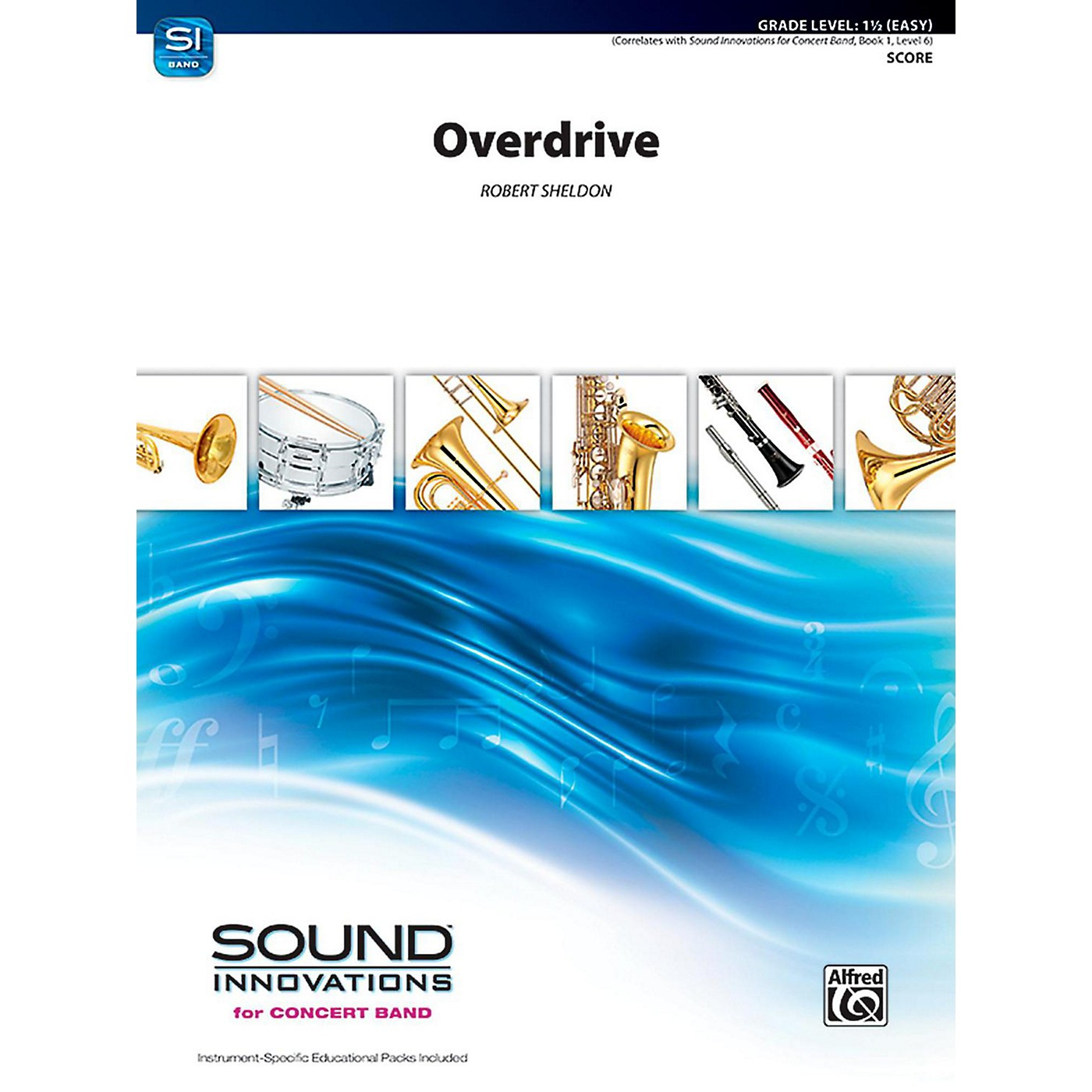 Alfred Overdrive Concert Band Grade 1.5 (Easy) thumbnail