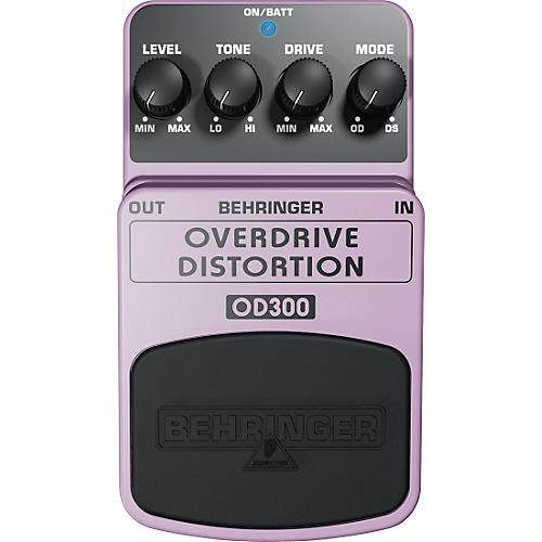 Behringer Overdrive/Distortion OD300 Guitar Effects Pedal thumbnail