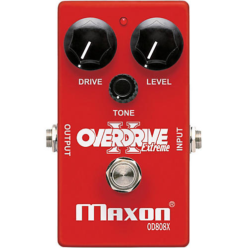 Maxon Overdrive Extreme Guitar Effects Pedal thumbnail