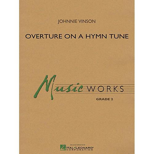 Hal Leonard Overture On A Hymn Tune - Music Works Series Grade 2 thumbnail