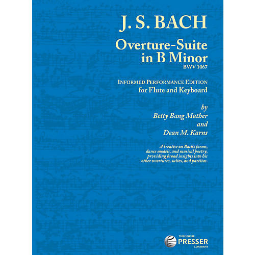 Theodore Presser Overture-Suite In B Minor (Book + Sheet Music) thumbnail