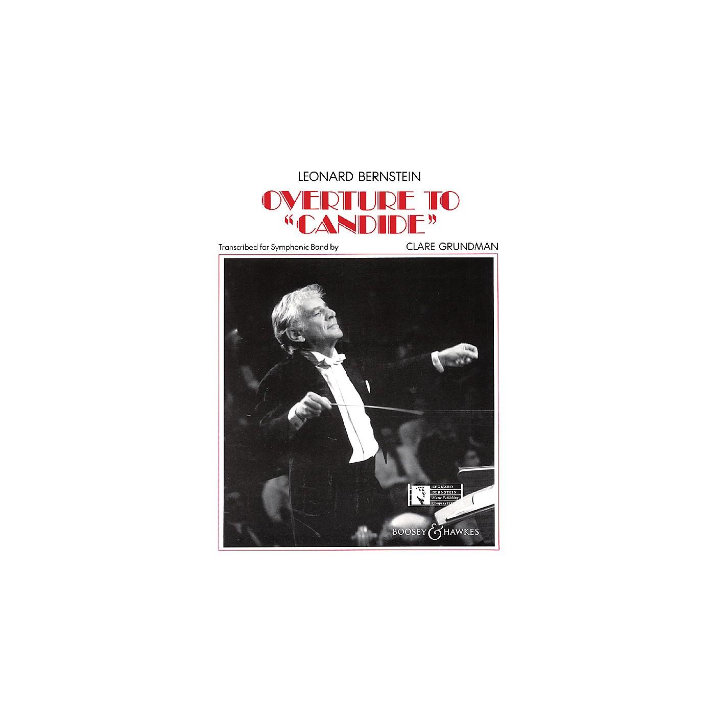 Leonard Bernstein Music Overture to Candide Concert Band Arranged by Clare Grundman thumbnail
