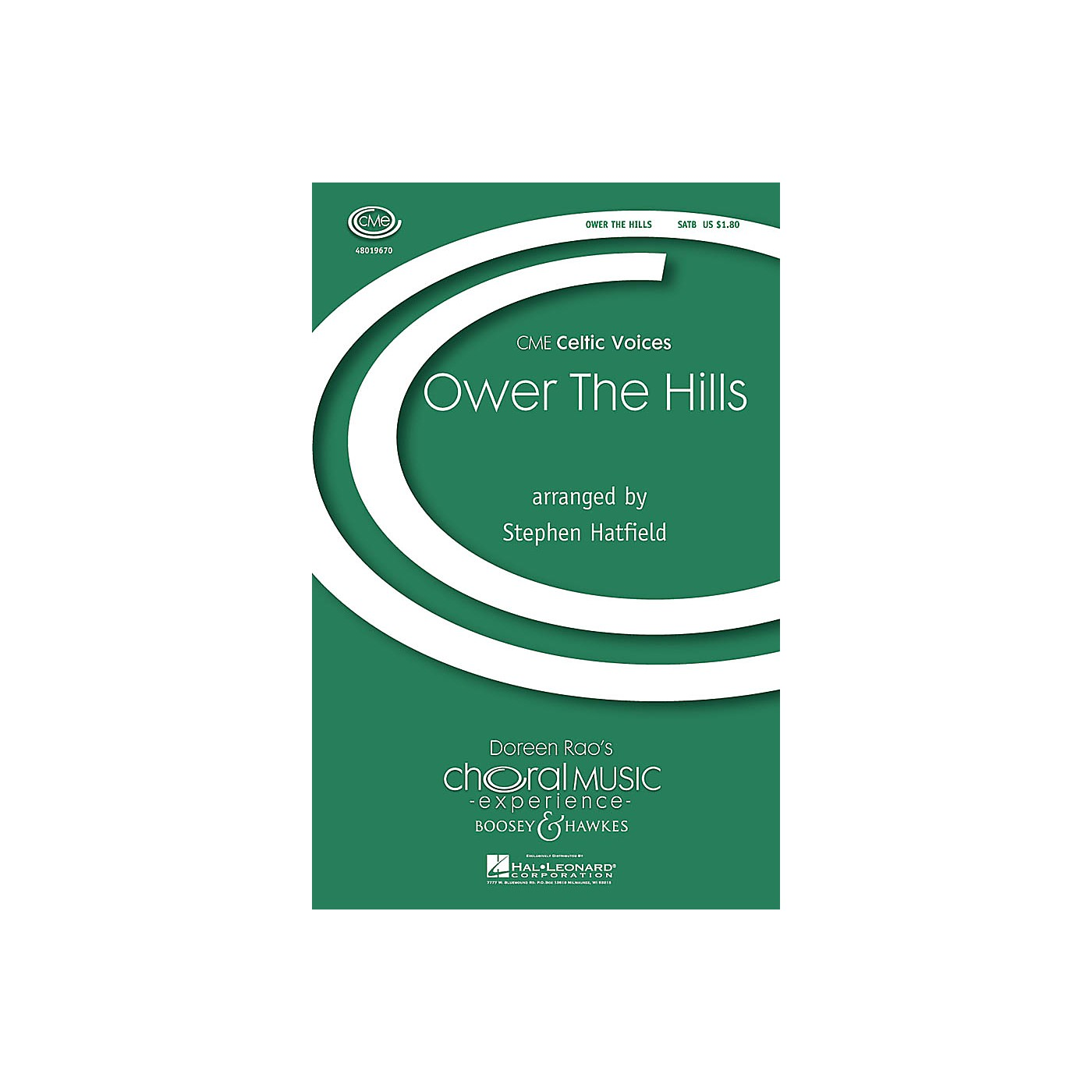 Boosey and Hawkes Ower the Hills (CME Celtic Voices) SATB arranged by Stephen Hatfield thumbnail