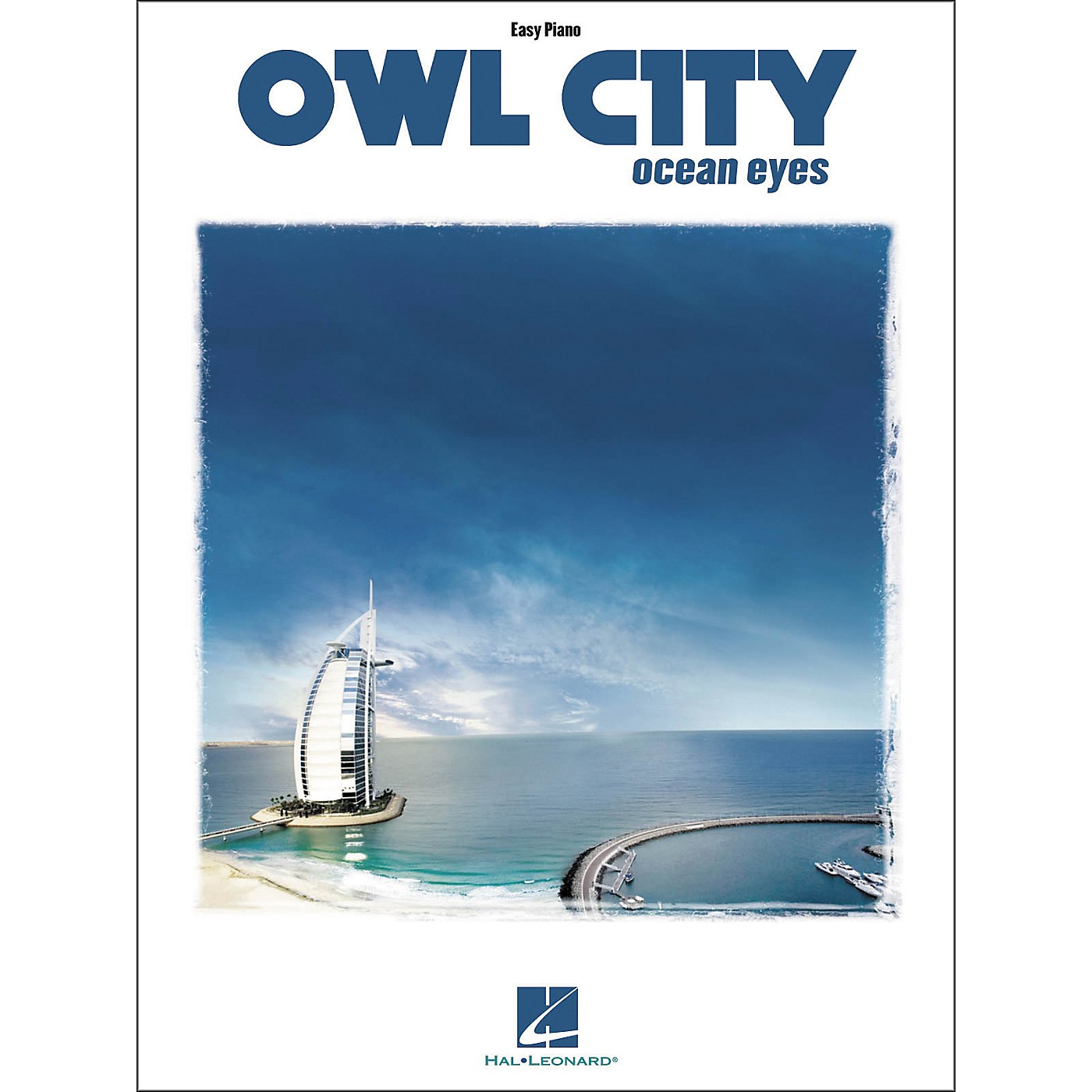 Hal Leonard Owl City - Ocean Eyes For Easy Piano Songbook thumbnail