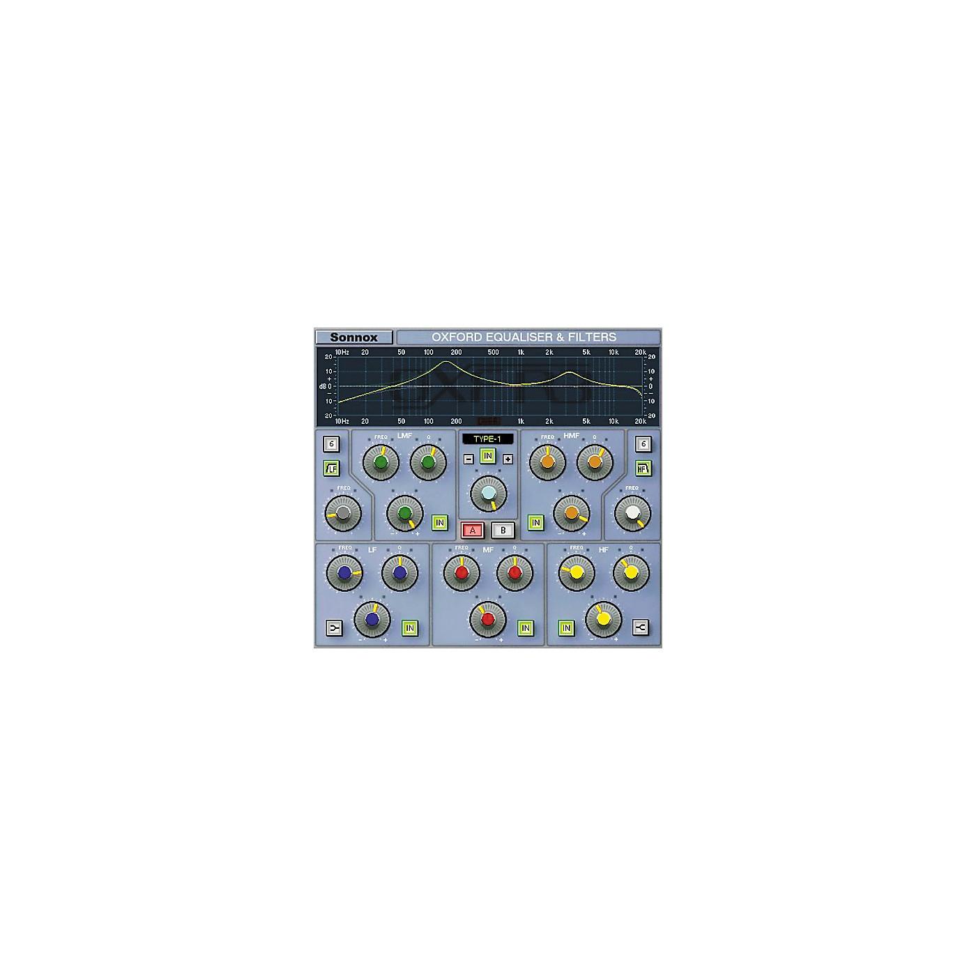 Sonnox Oxford EQ (Native) Software Download thumbnail