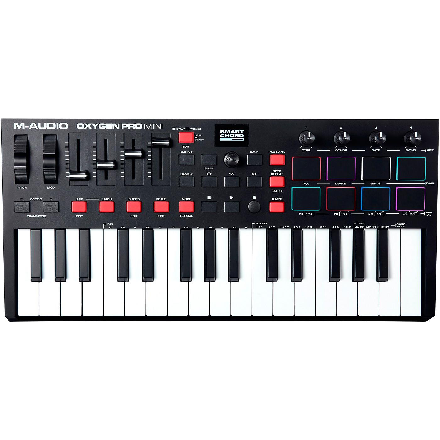 M-Audio Oxygen Pro Mini 32-Key USB MIDI Controller thumbnail