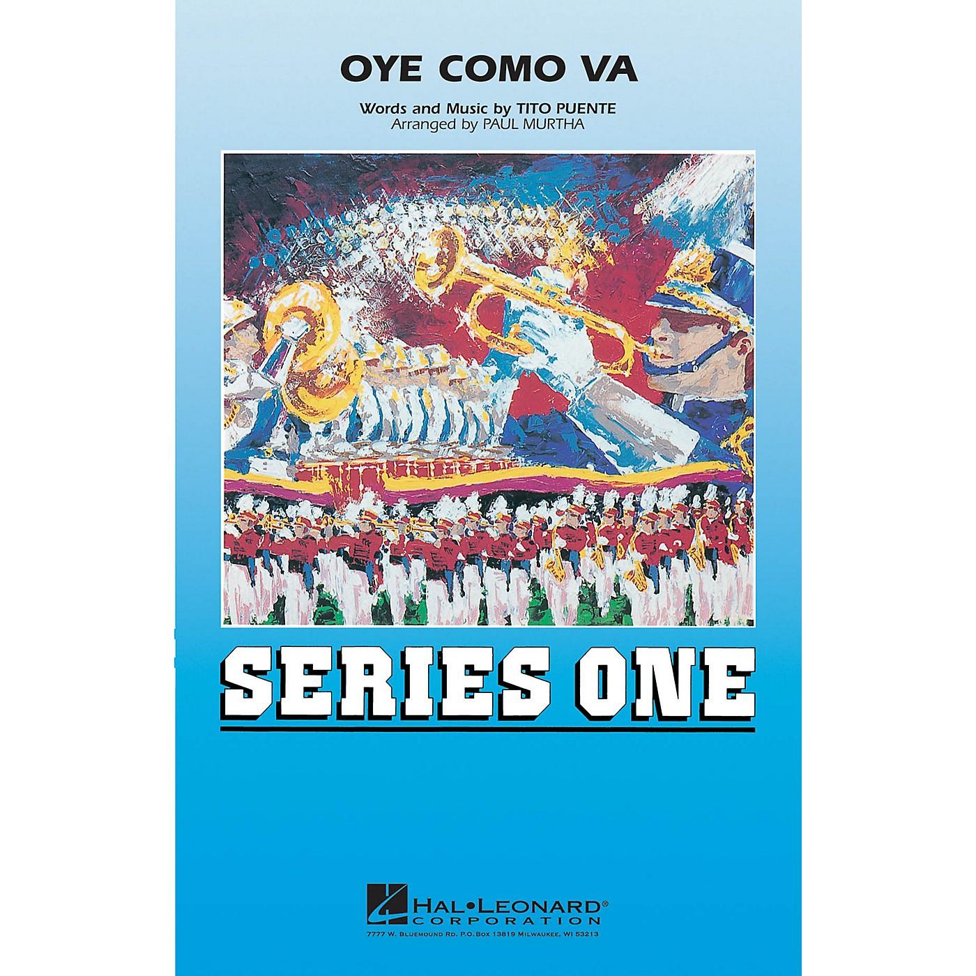 Hal Leonard Oye Como Va Marching Band Level 2 Arranged by Paul Murtha thumbnail