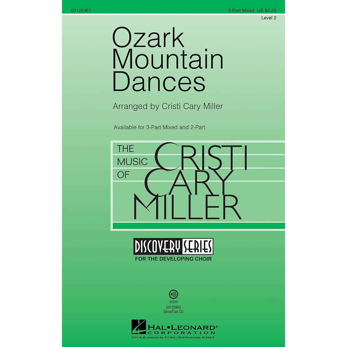 Hal Leonard Ozark Mountain Dances (Medley Discovery Level 2) ShowTrax CD Arranged by Cristi Cary Miller thumbnail
