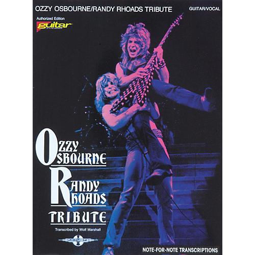 Ozzy Osbourne / Randy Rhoads Tribute Guitar Tab Songbook ... Ozzy Osbourne Tribute