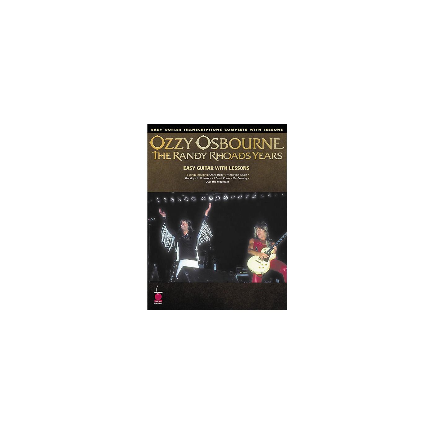 Cherry Lane Ozzy Osbourne - The Randy Rhoads Years Book thumbnail