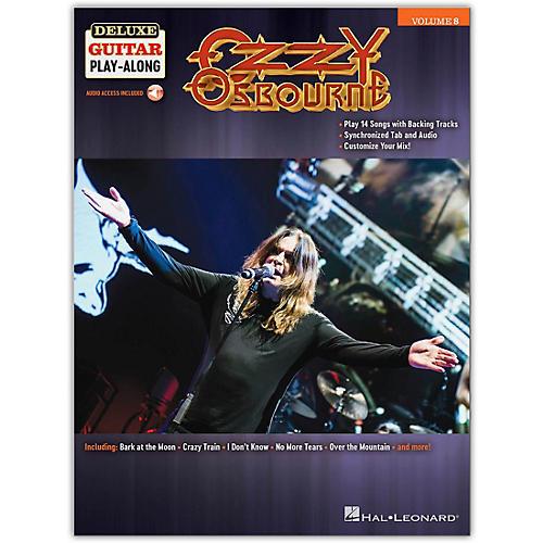 Hal Leonard Ozzy Osbourne Deluxe Guitar Play-Along Volume 8 Book/Audio Online thumbnail