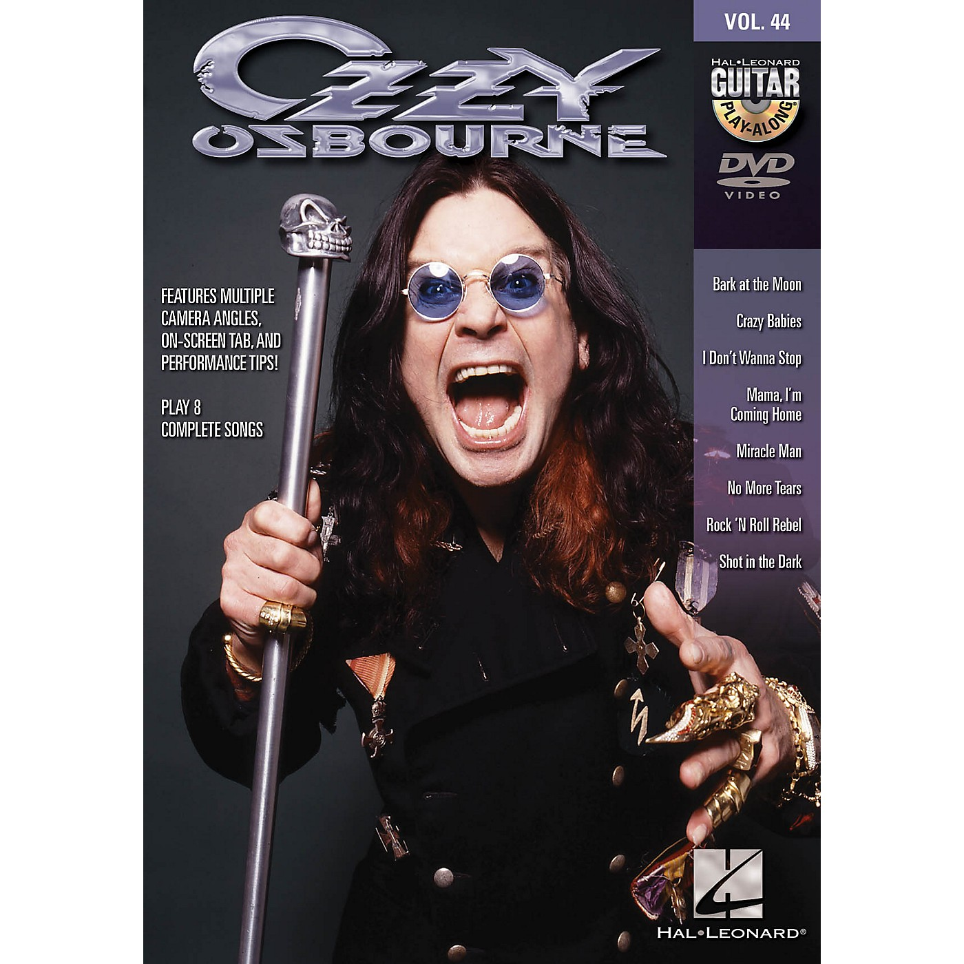 Hal Leonard Ozzy Osbourne (Guitar Play-Along DVD Volume 44) Guitar Play-Along DVD Series DVD by Ozzy Osbourne thumbnail