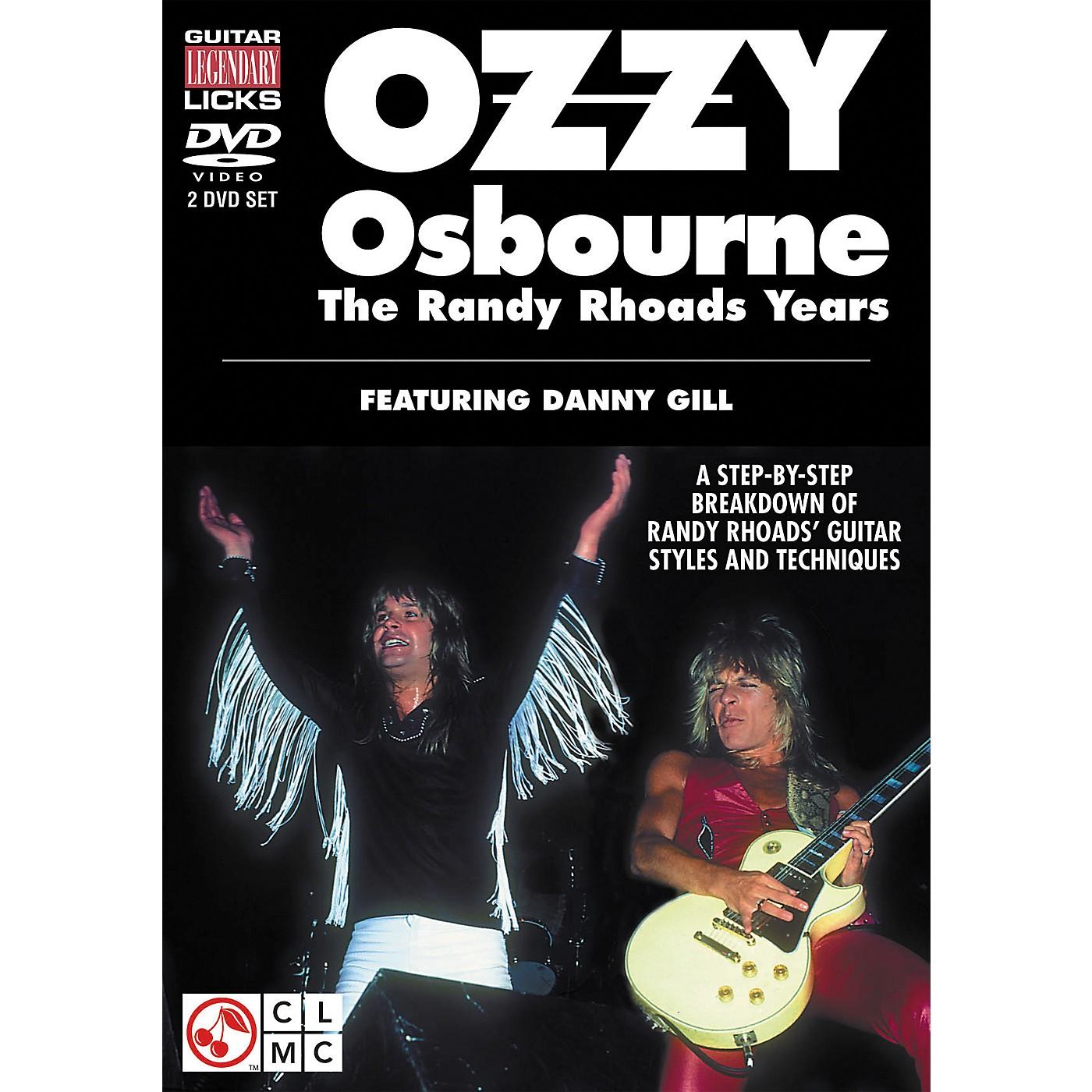 Cherry Lane Ozzy Osbourne: The Randy Rhoads Years - Legendary Guitar Licks (2-DVD Set) thumbnail