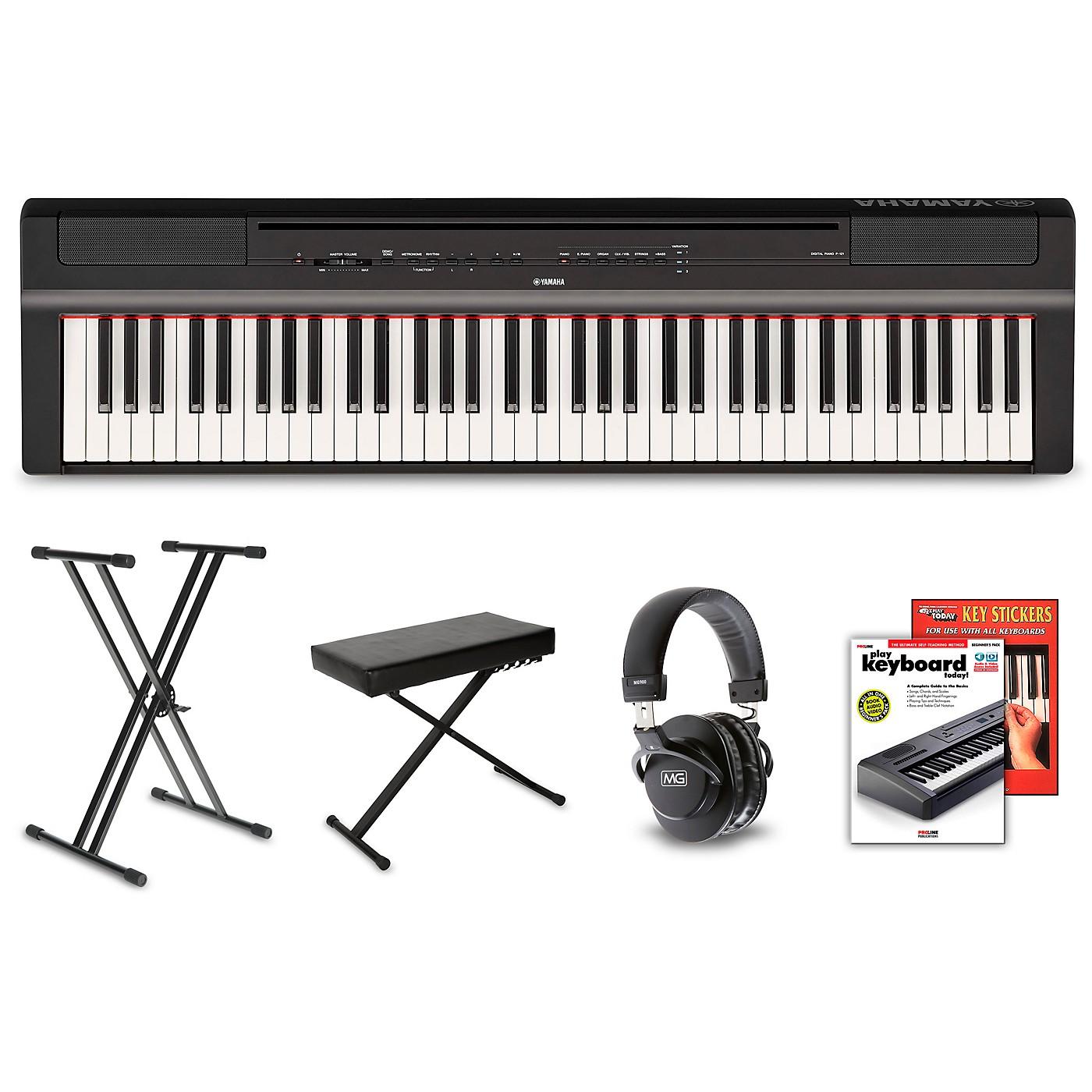 Yamaha P-121 Digital Piano Package thumbnail