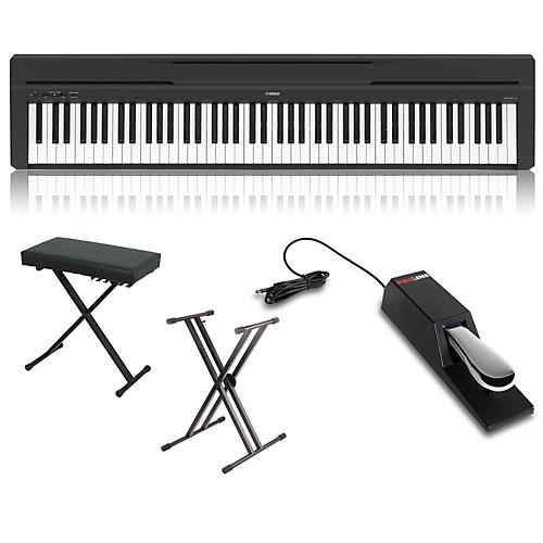 Yamaha P-45 88-Key Weighted Action Digital Piano Package thumbnail