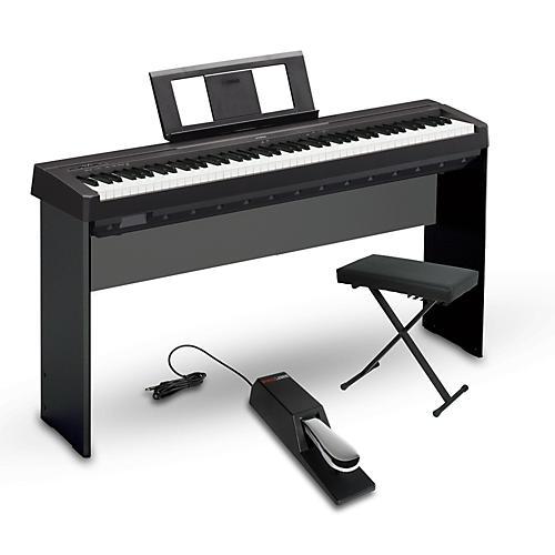 Yamaha P-45 88-Key Weighted Action Digital Piano Package thumbnail
