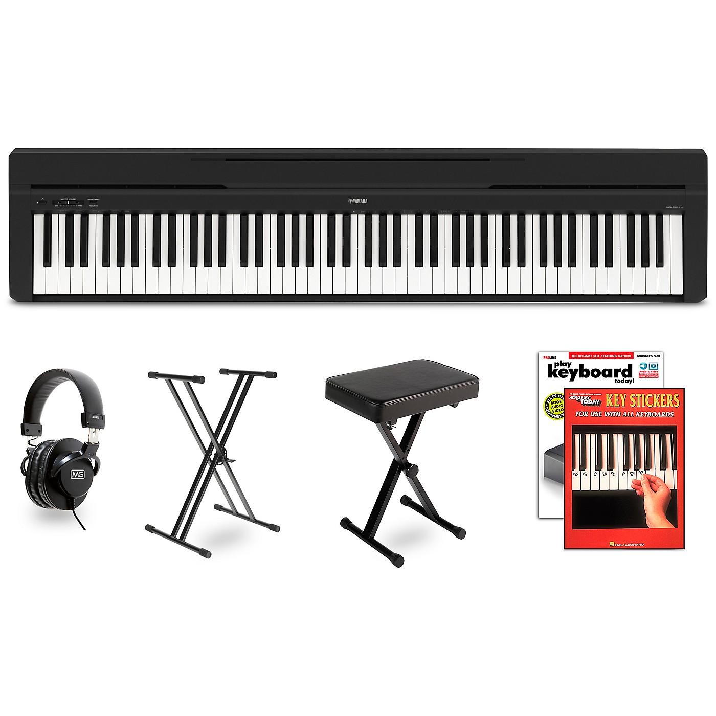 Yamaha P-45 Digital Piano Package thumbnail