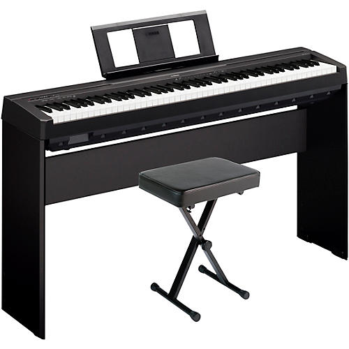 Yamaha P-45LXB Digital Piano with Stand and Bench thumbnail