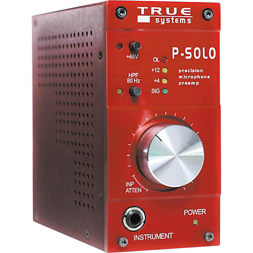 True Systems P-SOLO Single Channel Microphone Preamp thumbnail
