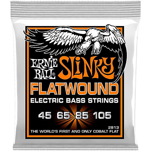 Ernie Ball P02813 Hybrid Slinky Flatwound Bass Strings thumbnail