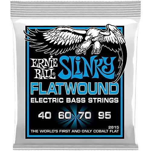 Ernie Ball P02815 Extra Slinky Flatwound Bass Strings thumbnail