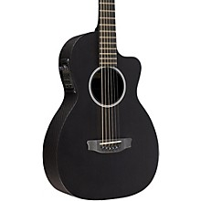 RainSong P12S Parlor Satin Acoustic-Electric Guitar