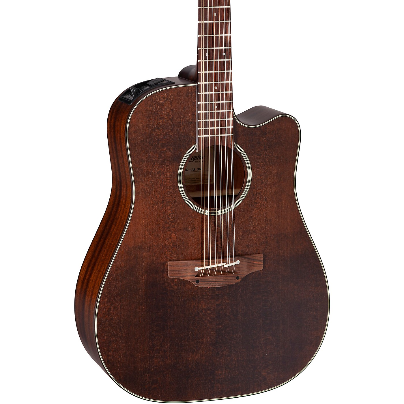 Takamine P1DC-12 SM 12-String Dreadnought Acoustic-Electric Guitar thumbnail