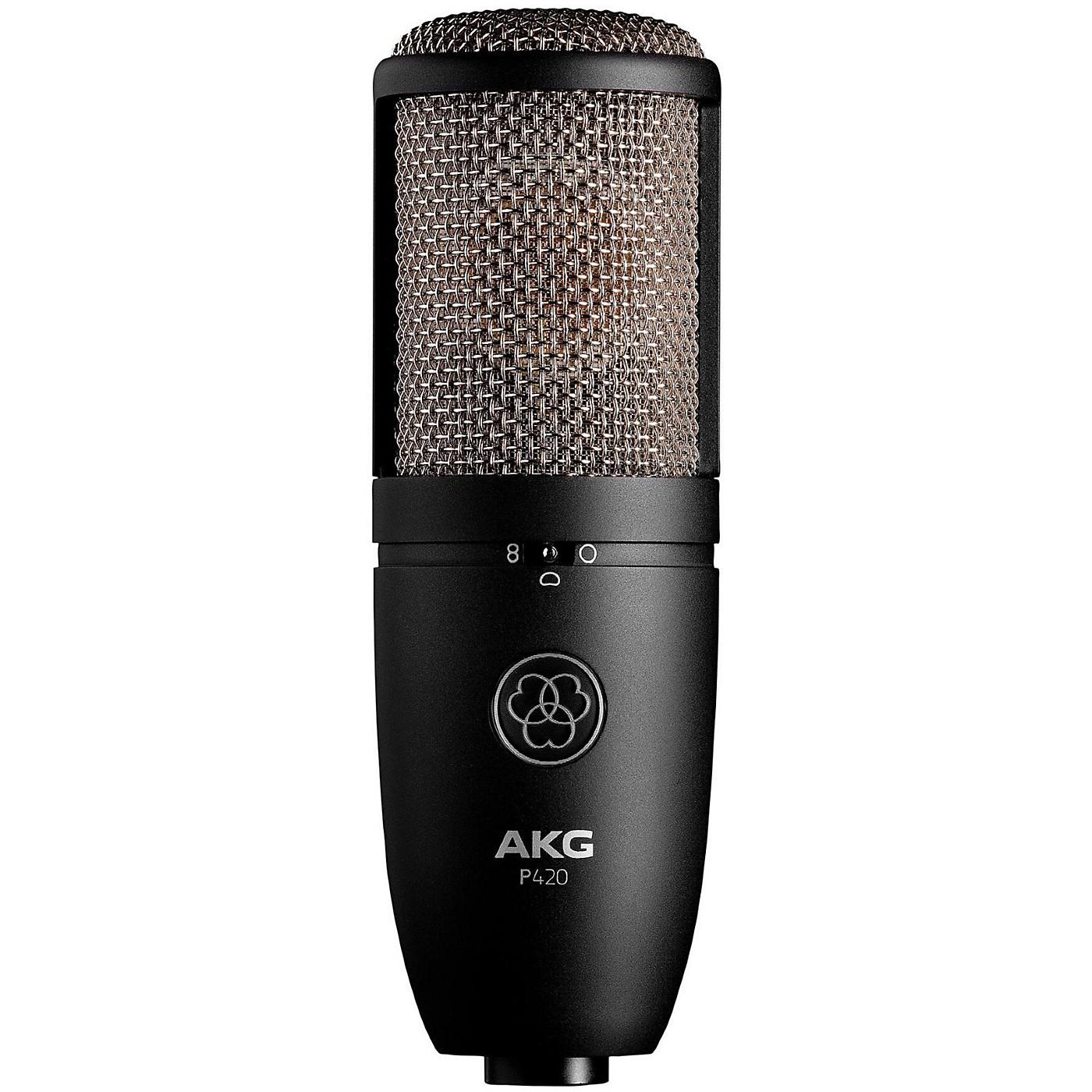 AKG P420 Project Studio Condenser Microphone thumbnail