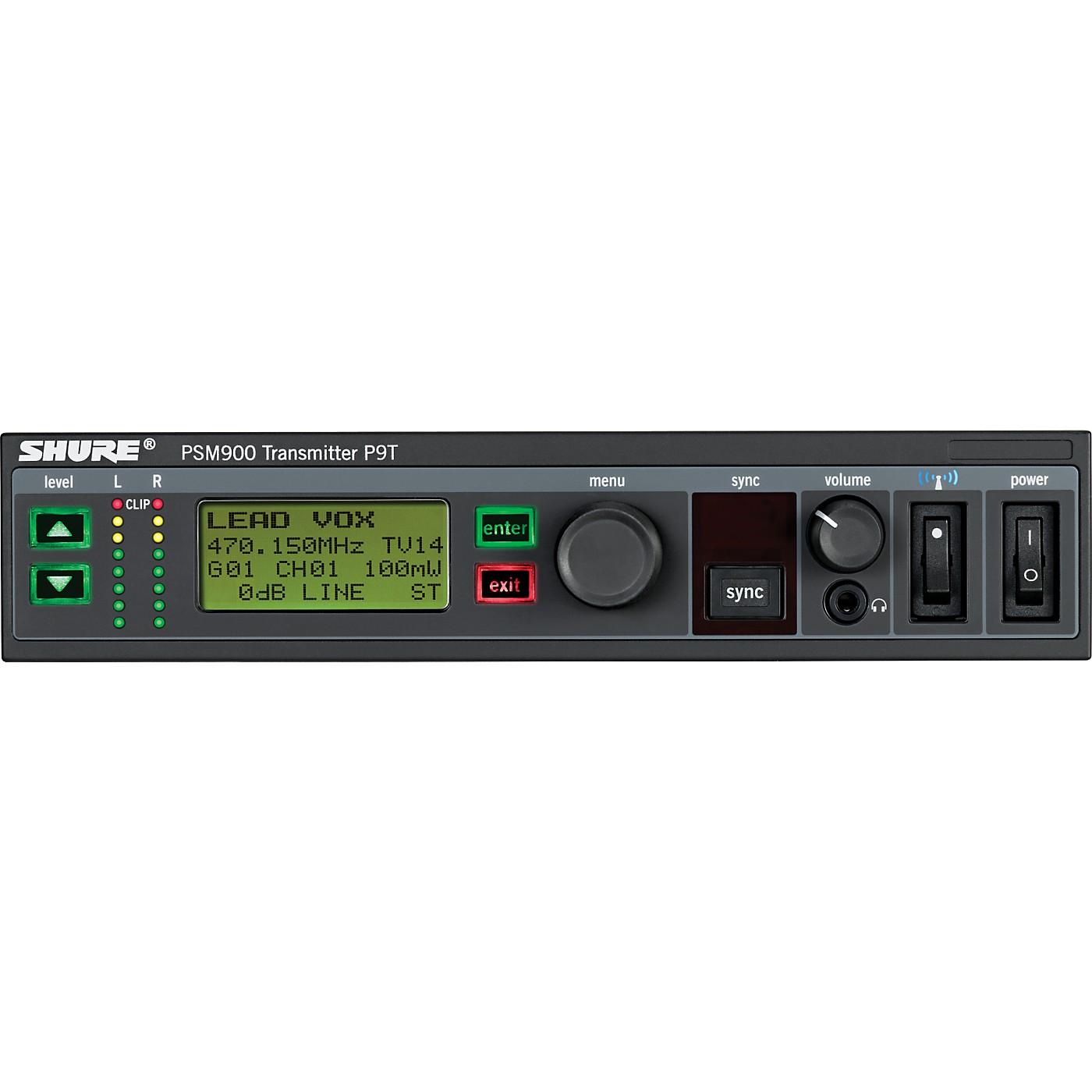 Shure P9T PSM900 Transmitter thumbnail