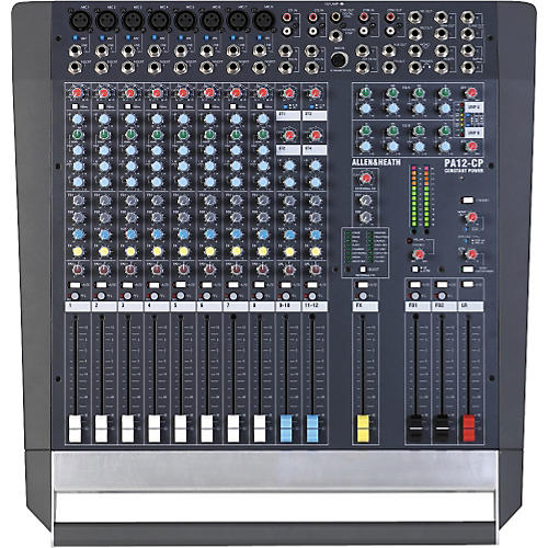 Allen & Heath PA 12-CP Powered Mixer thumbnail