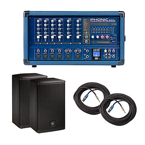 Phonic PA Package with Powerpod 630R Mixer and Electro-Voice Live X Speakers thumbnail