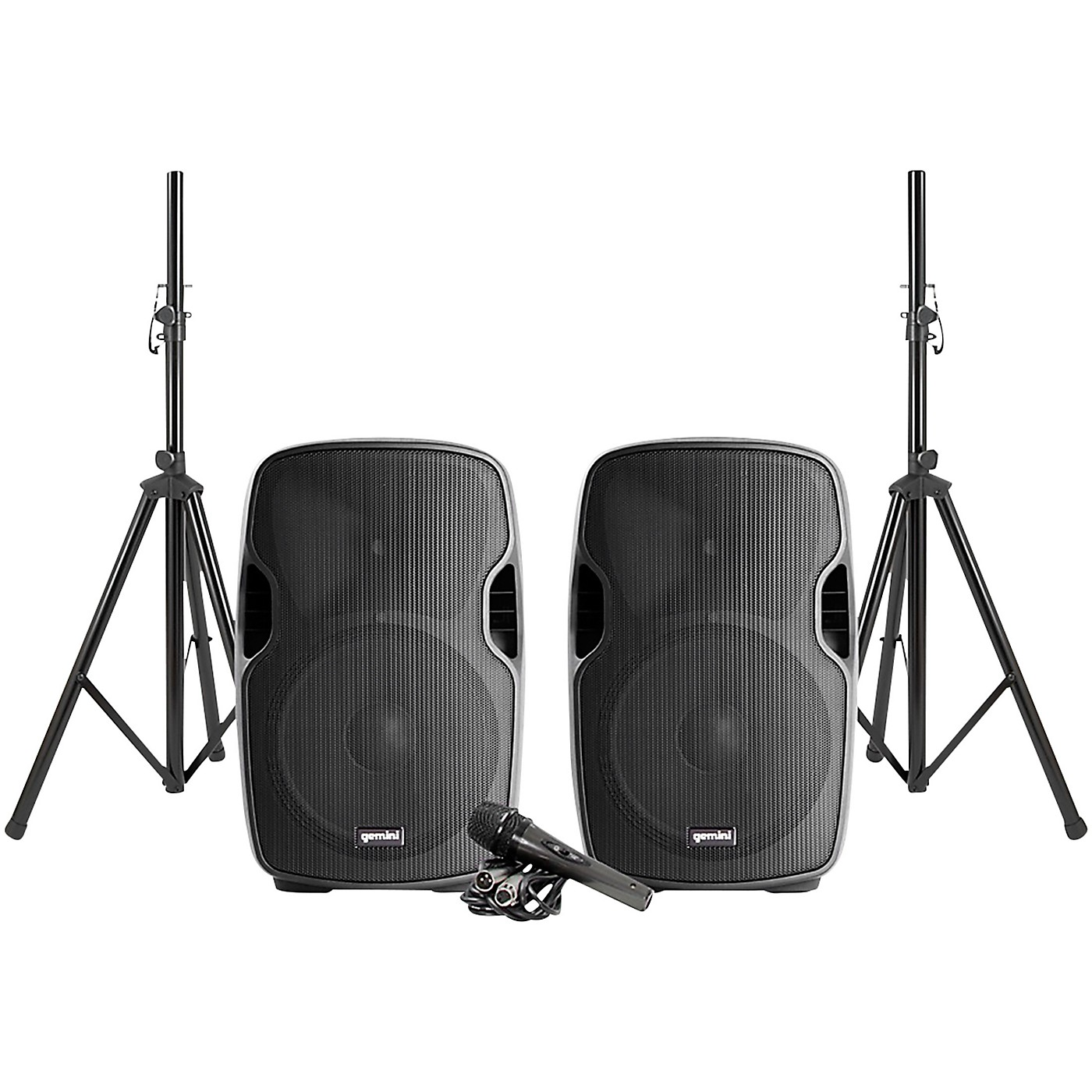 Gemini PA-SYS15 Complete Dual Speaker PA Package thumbnail