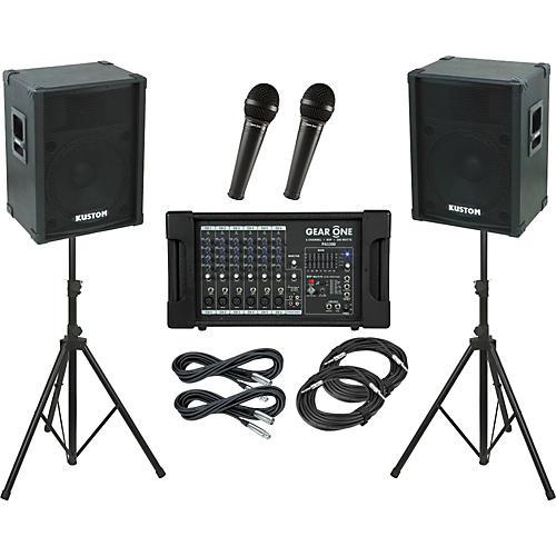 Gear One PA1300 / Kustom KPC15 PA Package-thumbnail