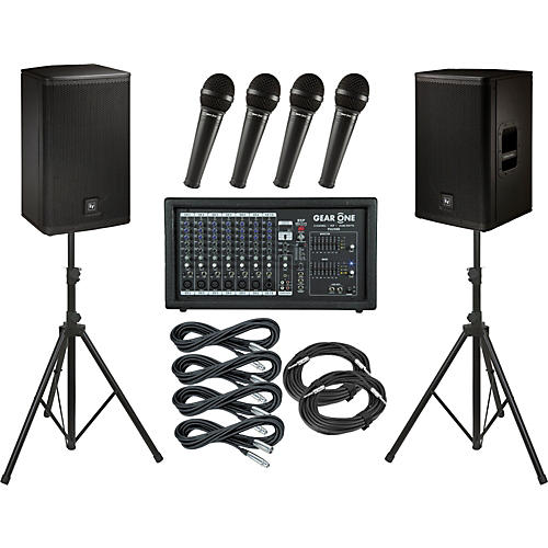 Gear One PA2400 / Electro-Voice ELX112 PA Package thumbnail