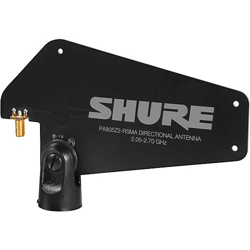 Shure PA805-RSMA Passive Directional Wireless Antenna for GLX-D Advanced Digital Wireless Systems thumbnail